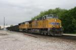 Wings lead a fallen flag coal train